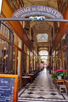 Paris Passage du Grand Cerf, France | La Beℓℓe ℳystère