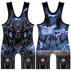Zuul Wrestling Singlet - Top quality sublimated singlet, hand-made right here in the USA. Wrestling Singlet, Little Man, Youth, Slime, Sports, Passion, Lifestyle, Board, Women