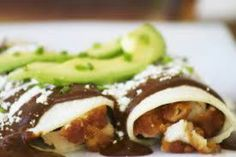Enchiladas de chocolate