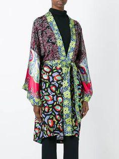 Duro Olowu накидка-кимоно с узором