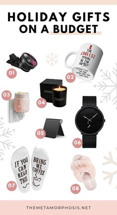 These cheap christmas gifts are perfect OMG!! Now I can definitely get everyone a christmas gift on a budget! Definitely worth checking out these christmas gift ideas! #christmas #giftideas #giftguide College Freshman Tips, College Fun, College Students, Christmas Gifts For Girls, Gifts For Teens, Gifts For Women, College Necessities, Stocking Stuffers For Girls, College Graduation Gifts