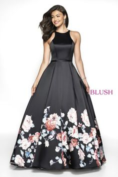 Shop long designer prom dresses at PromGirl. Cheap prom dresses, sleeveless formal dresses, and long Blush prom dresses with fitted bodices and ball-gown-style skirts with floral prints. Blush Prom Dress, Blush Gown, Black Prom Dresses, Blush Dresses, Plus Size Prom Dresses, Dresses For Teens, Homecoming Dresses, Short Dresses, Formal Dresses