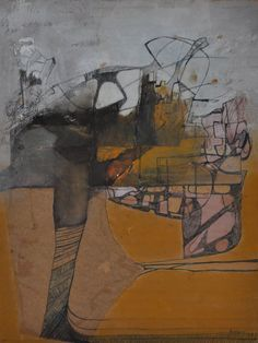 mixed media collage abstract - Google Search