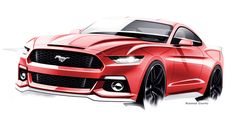 The evolving design themes of the 2015 Ford Mustang  - RoadandTrack.com