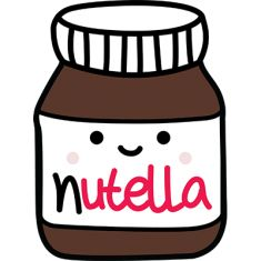 try to draw that kawaii nutella Cute Easy Drawings, Kawaii Drawings, My Drawings, Kawaii Doodles, Kawaii Art, Deco Tumblr, Cute Images, Cute Pictures, Plastic Fou
