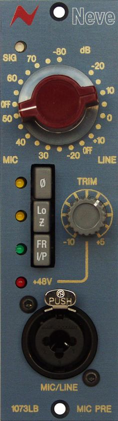 Neve 1073LB. The Neve 1073LB EQ brings the legendary Neve preamp sound to the world of 500-series. £695 (ex VAT)