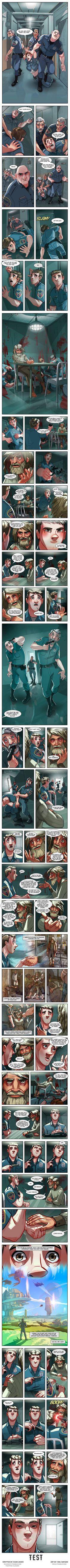 TEST - A comics story - 9GAG