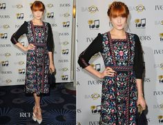 Florence Welch In Vilshenko – Ivor Novello Awards