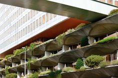 Roland Willomet, Paul Dumartheray - Bâtiments Administratifs de Chauderon, Lausanne