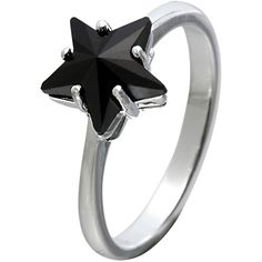 SWAROVSKI CRYSTALLIZED Star Ring ($42) ❤ liked on Polyvore featuring jewelry, rings, accessories, anéis, jet, swarovski crystal jewelry, swarovski crystallized, swarovski crystal jewellery, swarovski crystal rings and sparkle jewelry