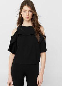 Off-shoulder blouse