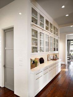 Things We Love: Gray Doors - Design Chic