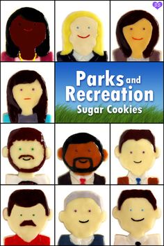 Parks and Recreation Cookies