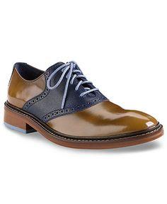 Cole Haan Men's Shoes, Colton Saddle Lace-Up Shoes - All Men's Shoes - Men - Macy's