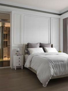 Easy Contemporary Home Decor Ideas Master Bedroom Design, Home Bedroom, Modern Bedroom, Diy Bedroom Decor, Bedroom Designs, Bedroom Ideas, Bed Designs, Classic Interior, Contemporary Home Decor