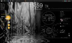 Rainmeter Desktop v3.0 by assafrox.deviantart.com on @deviantART
