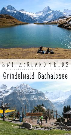 Hike with kids to alpine lake with spectacular views then reward kids with a playground with a view - Jungfrau Region: Grindelwald First and Bachalpsee, Switzerland