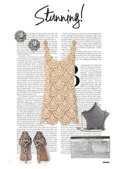 Beaded dress & outfit idea
