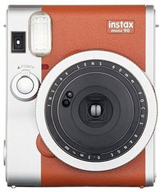 Fujifilm Instax Mini 90 Instant Film Camera (Brown) Fujifilm