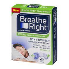 Breathe Right Nasal Strips Freebies