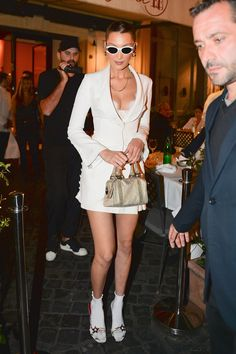 457f030df4b1 Bella Hadid Commits a Fashion Faux Pas—in the Chicest Way Possible