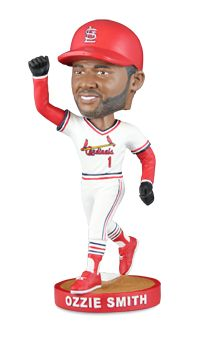 "Come see the Cardinals take on the Los Angeles Dodgers on Saturday, May 30. 25,000 fans, ages 16 and older will receive their very own Ozzie Smith Bobblehead. Fans are sure to ""GO CRAZY"" over this one-of-a-kind item!"