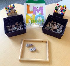 British Columbia Kindergarten Language Arts C7 and B8  Letter provocation (alphabet)