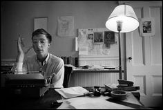 """""""Any activity becomes creative when the doer cares about doing it right or better."""" - John Updike, Massachusetts, 1962"""