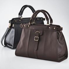 Leather Dr. Bag from Monroe and Main. www.monroeandmain.com