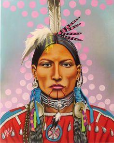 Les Productions Feux Sacrés | Riel Benn Native American Paintings, Native American Images, Native American Artists, Native American History, Indian Paintings, Native American Indians, American Indian Tattoos, American Indian Art, Native Indian
