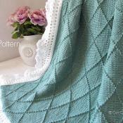 Knit Blanket - Paris #63 CCP - via @Craftsy
