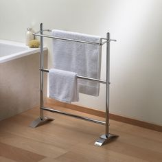 Then Of The Standing Towel Rack With Extra Storage For Bathroom