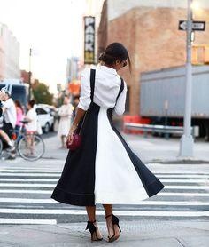 Fashion week vibes {esse vestido da @olympiahoficial tem uma modelagem tão…