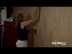 Painting - How to Strie or Drag Glaze On a Wall Paint Techniques, Glaze, Wall, House, Painting, Enamel, Home, Painting Art, Walls