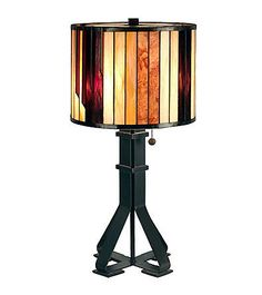 Dale Tiffany Geometric Table Lamp | Younkers