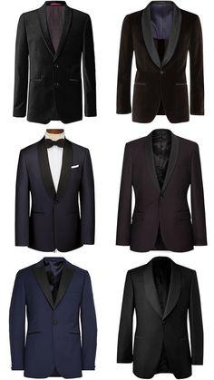 Men's Velvet and Wool Dinner Jackets