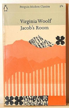 jacob´s room by Virginia Woolf vintage penguin paperback