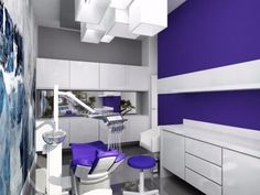DISEÑO CLÍNICA DENTAL Mdf Furniture, Clinic Design, Salon Design, Cabinet, Medici, Bed, Dentists, Graphics, Studio