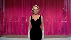 """Rosemary Clooney in White Christmas (1954), """"Love, You Didn't Do Right By Me"""", costume designed by Edith Head"""