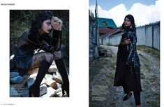 Fashion goes goth for the November 2015 issue of Grazia India where the glossy puts the spotlight on all black looks. Photographed by Keegan Crasto, model Archana Akil Kumar heads to Ziro Valley in Arunachal Pradesh for a nearly scene-stealing backdrop. We say nearly because Archana's looks are in a league of their own. Stylist Pasham …