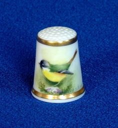 Thimble Royal Worcester Hand Painted and Signed | eBay Oct 31, 2013 / GBP 45.00