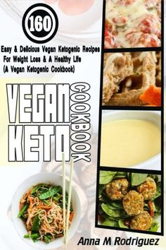 Vegan Keto Cookbook: 160 Easy & Delicious Vegan Ketogenic Recipes For Weight Loss & A Healthy Life (A Vegan Ketogenic Cookbook) * Read more at the image link. (This is an affiliate link) #KetogenicDietForBeginners
