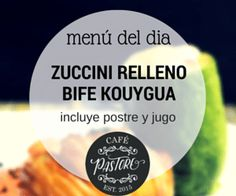 "the Ad ""menu del dia"""