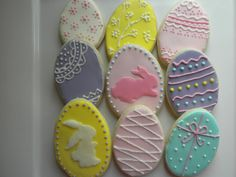 Easter egg designs | Cookie Connection