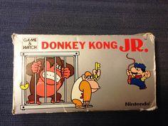 Donkey Kong JR Game and Watch Nintendo