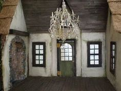 Dollhouse Frog's Cottage interior