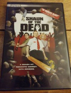 Shaun of the Dead DVD Movie **MUST SEE CLASSIC**  #shaunofthedead, #zombie, #dvd, #movie, #ebay