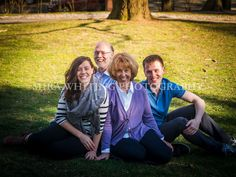 Family Portrait with Grown Children  | Mira Whiting Photography