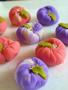 Japanese Sweets, あさがお morning glory
