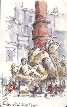 Bernini on Piazza Navona